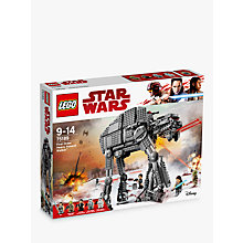 Buy LEGO Star Wars The Last Jedi 75189 First Order Heavy Assault Walker Online at johnlewis.com