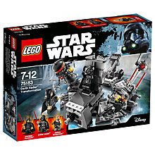 Buy LEGO Star Wars 75183 Darth Vader Transformation Online at johnlewis.com