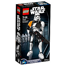 Buy LEGO Star Wars Rogue One 75531 Stormtrooper Commander Online at johnlewis.com