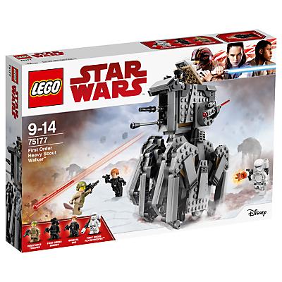 LEGO Star Wars The Last Jedi 75177 First Order Heavy Scout Walker