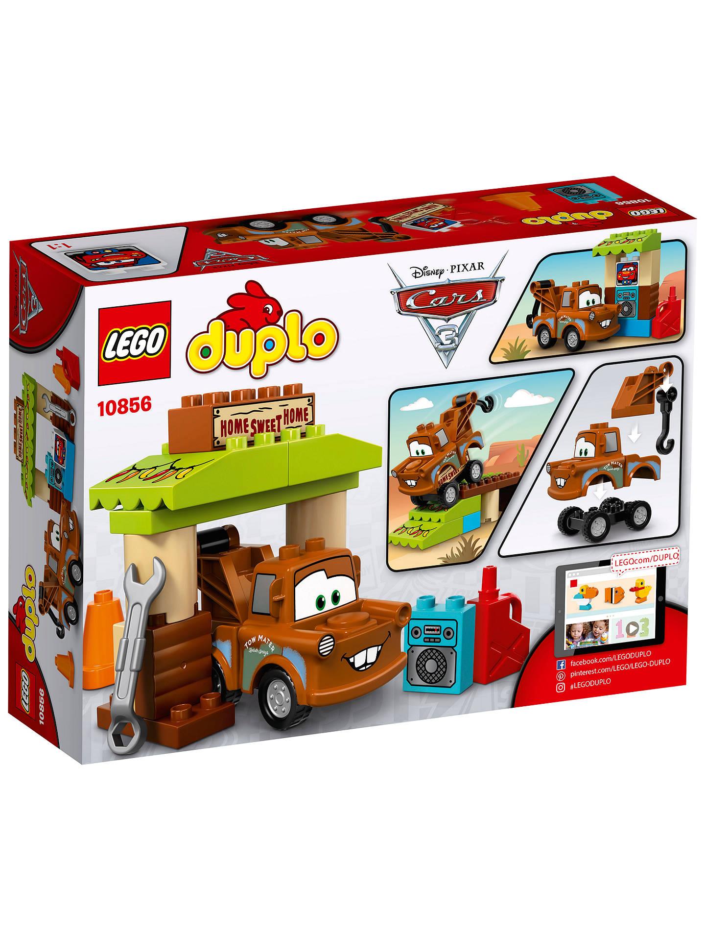 Lego Duplo Disney Pixar Cars 3 10856 Maters Shed At John Lewis
