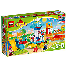 Buy LEGO DUPLO 10841 Fun Family Fair Online at johnlewis.com