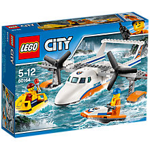 Buy LEGO City 60164 Sea Rescue Plane Online at johnlewis.com