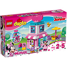 Buy LEGO DUPLO Disney Junior 10844 Minnie Mouse Bow-tique Online at johnlewis.com
