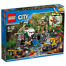 Buy LEGO City 60161 Jungle Exploration Site Online at johnlewis.com