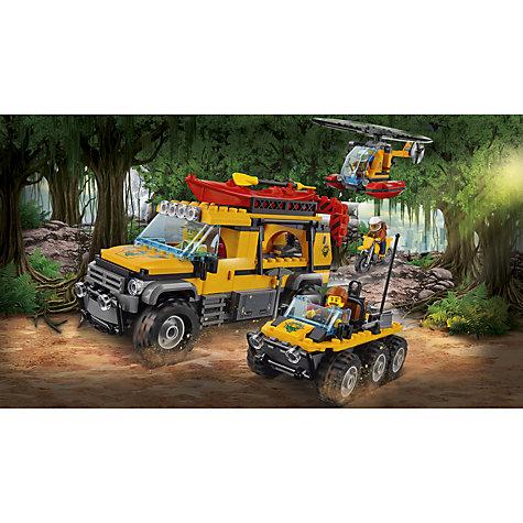 Buy LEGO City 60161 Jungle Exploration Site   John Lewis