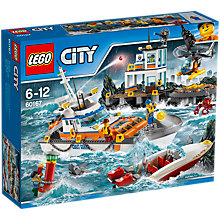 Buy LEGO City 60167 Coast Guard Headquarters Online at johnlewis.com