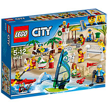 Buy LEGO City 60153 Fun At The Beach People Pack Online at johnlewis.com