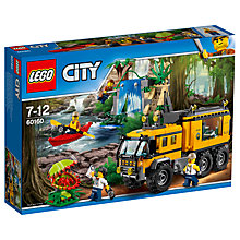 Buy LEGO City 60160 Jungle Mobile Lab Online at johnlewis.com