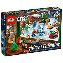 Buy LEGO City 60155 Advent Calendar Online at johnlewis.com