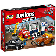 Buy LEGO Juniors Disney Pixar Cars 3 10743 Smokey's Garage Online at johnlewis.com