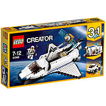 Buy LEGO Creator 31066 Space Shuttle Explorer Online at johnlewis.com