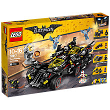 Buy LEGO The LEGO Batman Movie 70917 Ultimate Batmobile Online at johnlewis.com
