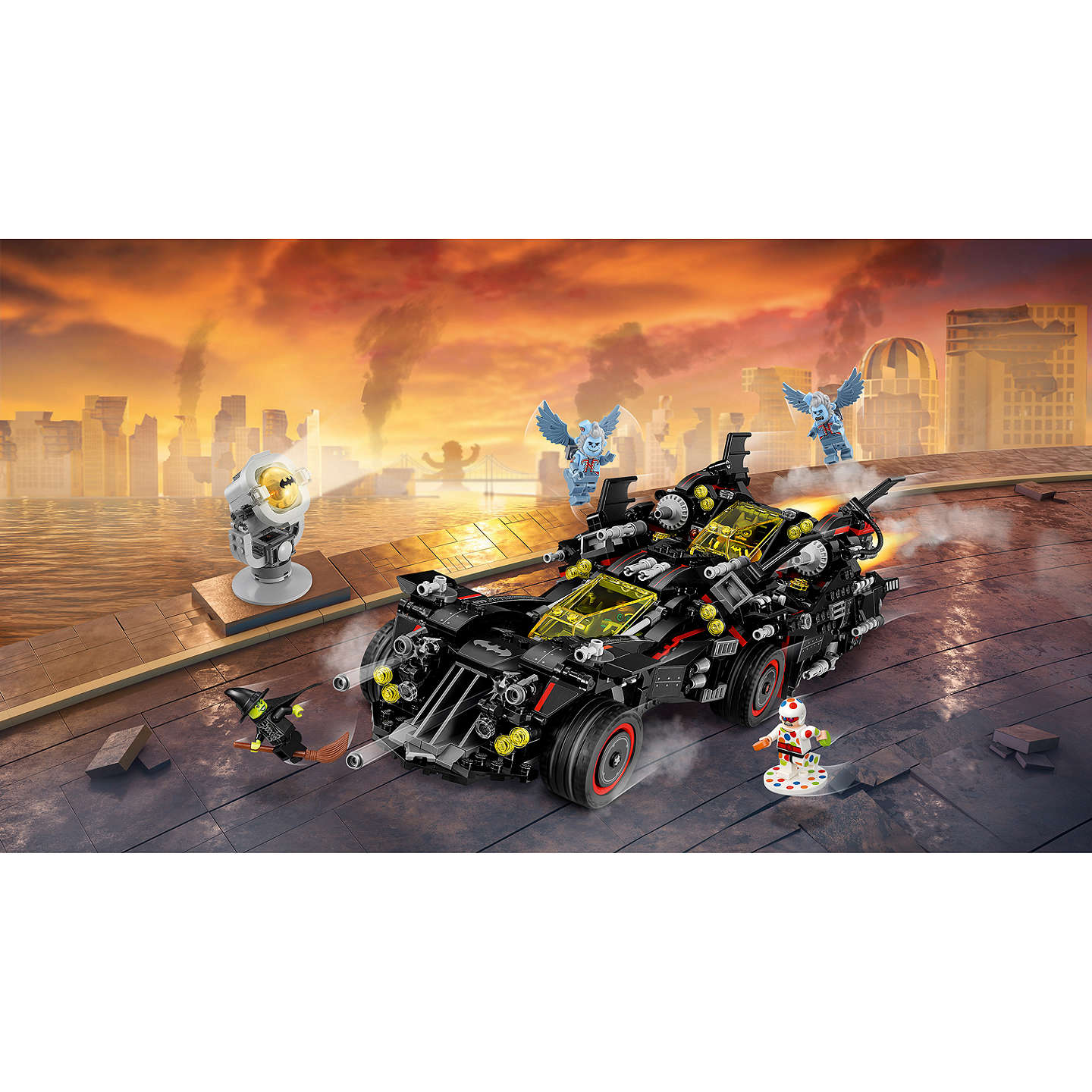 Buylego The Lego Batman Movie 70917 Ultimate Batmobile Online At