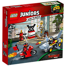Buy LEGO Juniors 10739 Ninjago Shark Attack Online at johnlewis.com