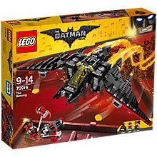 Buy LEGO The LEGO Batman Movie 70916 The Batwing Online at johnlewis.com