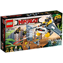 Buy LEGO Ninjago 70609 Manta Ray Bomber Online at johnlewis.com