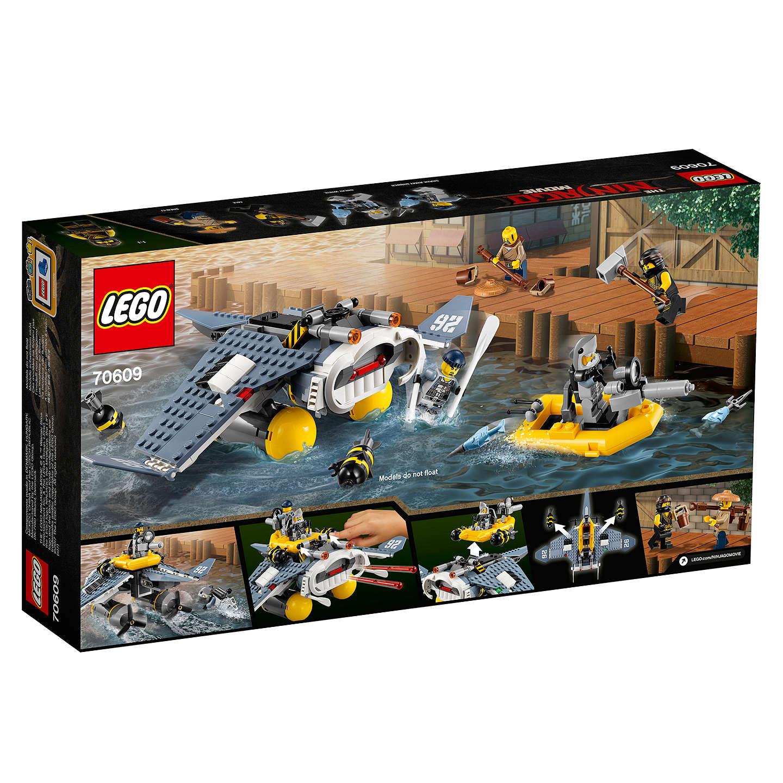 lego ninjago 70609 manta ray bomber at john lewis. Black Bedroom Furniture Sets. Home Design Ideas