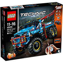 Buy LEGO Technic 42070 6x6 All Terrain Tow Truck Online at johnlewis.com