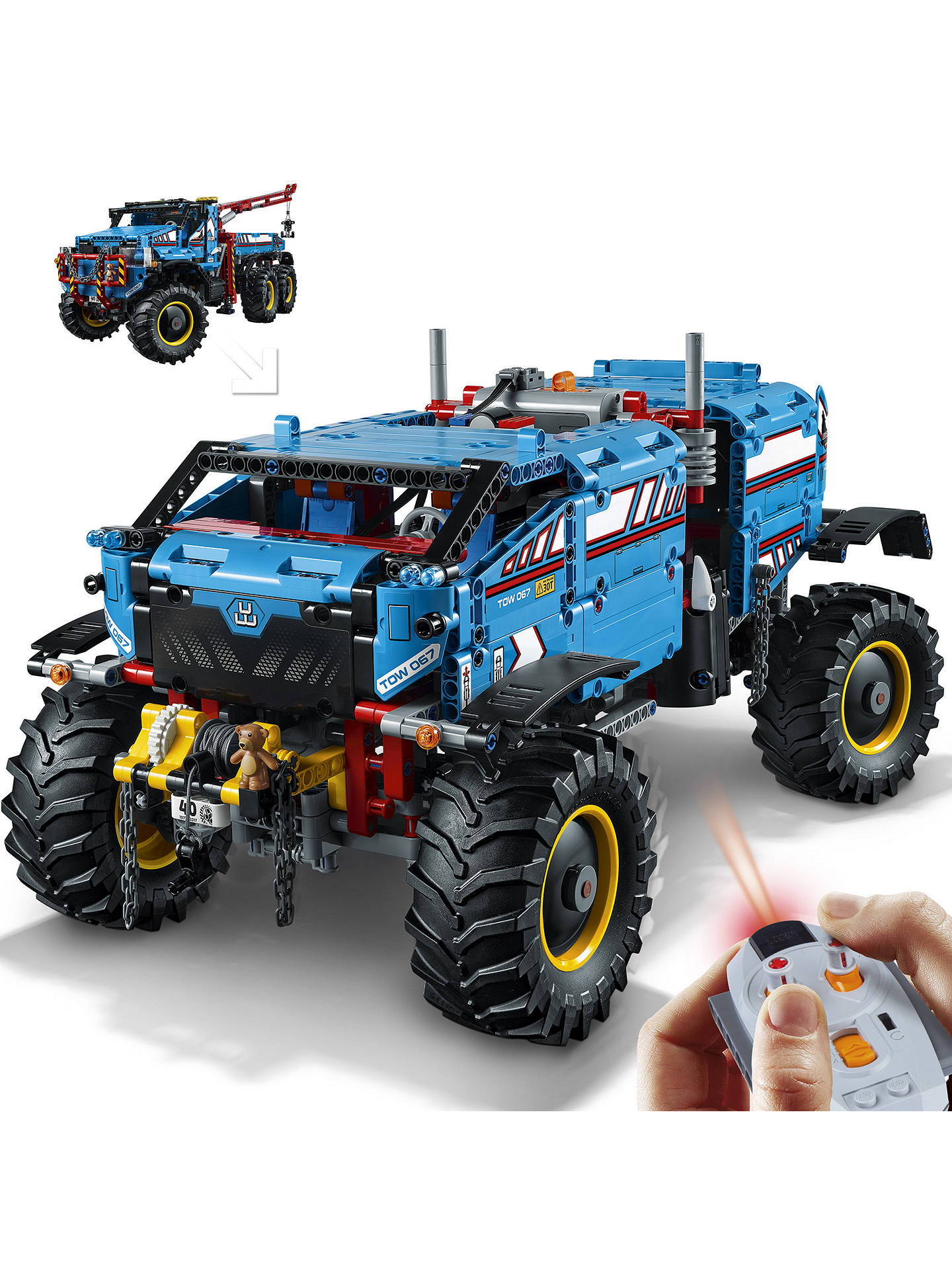 Compatible Technic 6x6 All Terrain Tow Truck 1862 Pieces