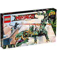 Buy LEGO Ninjago 70612 Green Ninja Mech Dragon Online at johnlewis.com