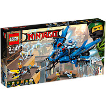 Buy LEGO Ninjago 70614 Lightning Jet Online at johnlewis.com