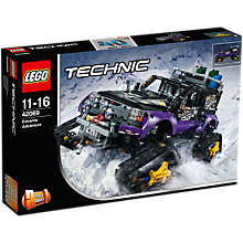 Buy LEGO Technic 42069 Extreme Adventure Online at johnlewis.com