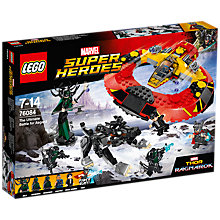 Buy LEGO Super Heroes 76084 The Ultimate Battle of Asgard Online at johnlewis.com