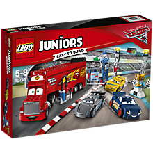 Buy LEGO Juniors 10745 Pixar Cars Florida 500 Final Race Online at johnlewis.com