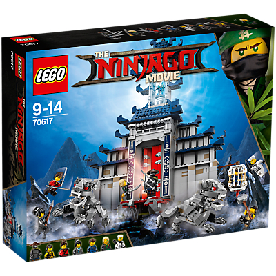 LEGO Ninjago 70617 Temple of the Ultimate Ultimate Weapon