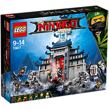 Buy LEGO Ninjago 70617 Temple of the Ultimate Ultimate Weapon Online at johnlewis.com