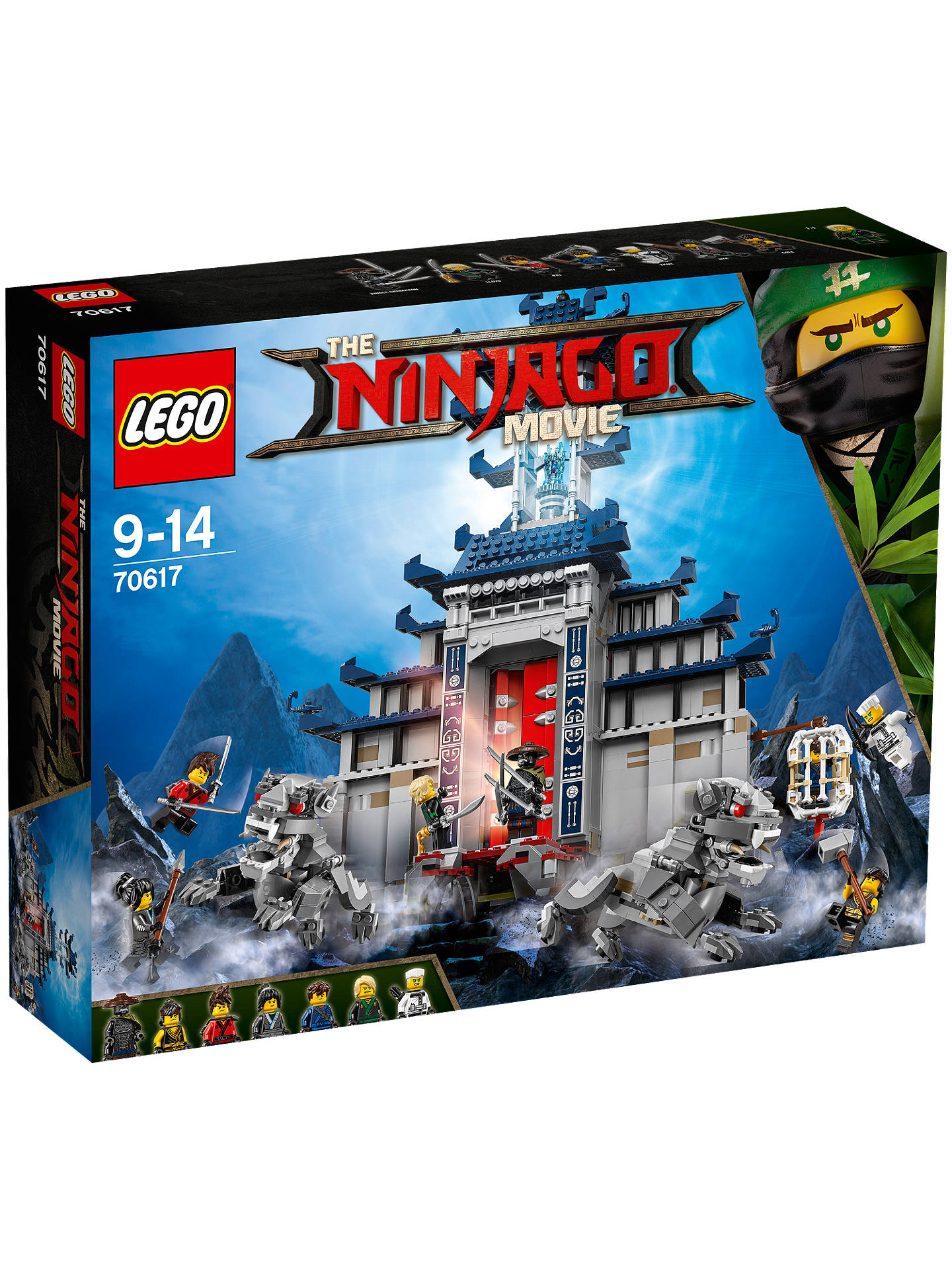 LEGO Ninjago 70617 Temple of the Ultimate Ultimate Weapon ...