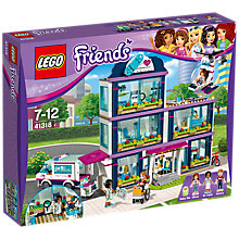 Buy LEGO Friends 41318 Heartlake Hospital Online at johnlewis.com