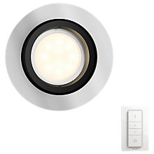 Buy Philips Hue Milliskin Single Recessed Spotlight with Dimmer Switch Online at johnlewis.com