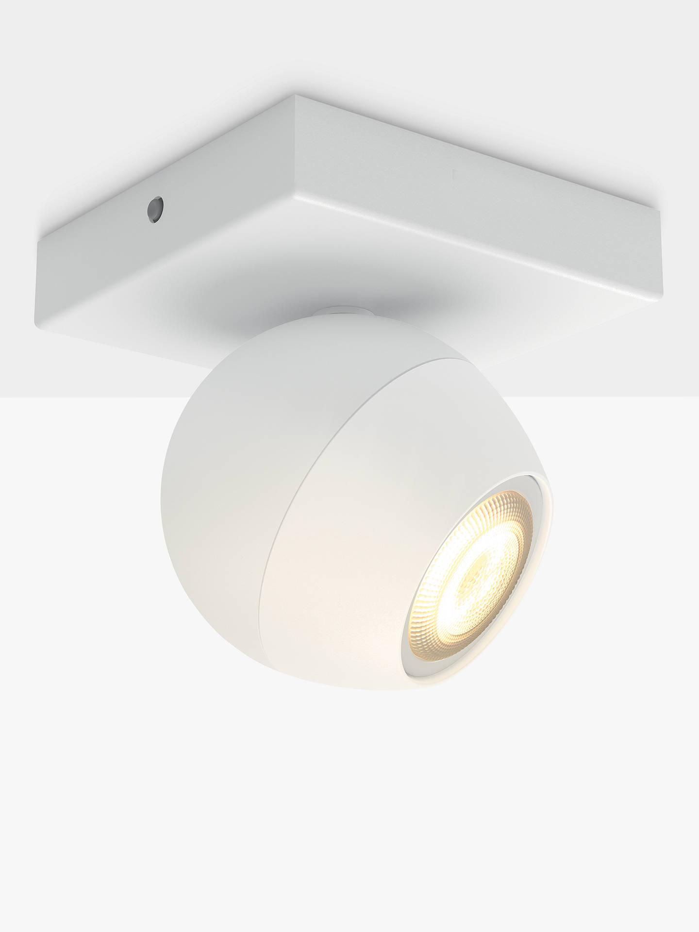 Philips Hue Ambiance Buckram Led Single Spotlight Extension White Antler Lamp Wiring Kit Buyphilips Online At