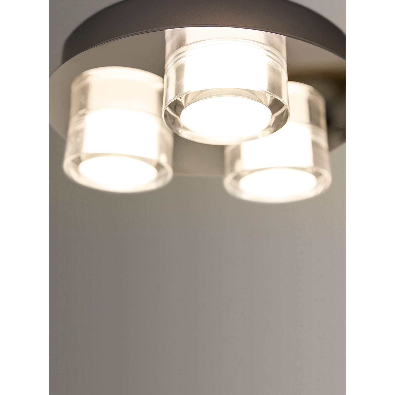 Philips myBathroom Resort 3 Light Bathroom Flush Spotlight, Chrome ...