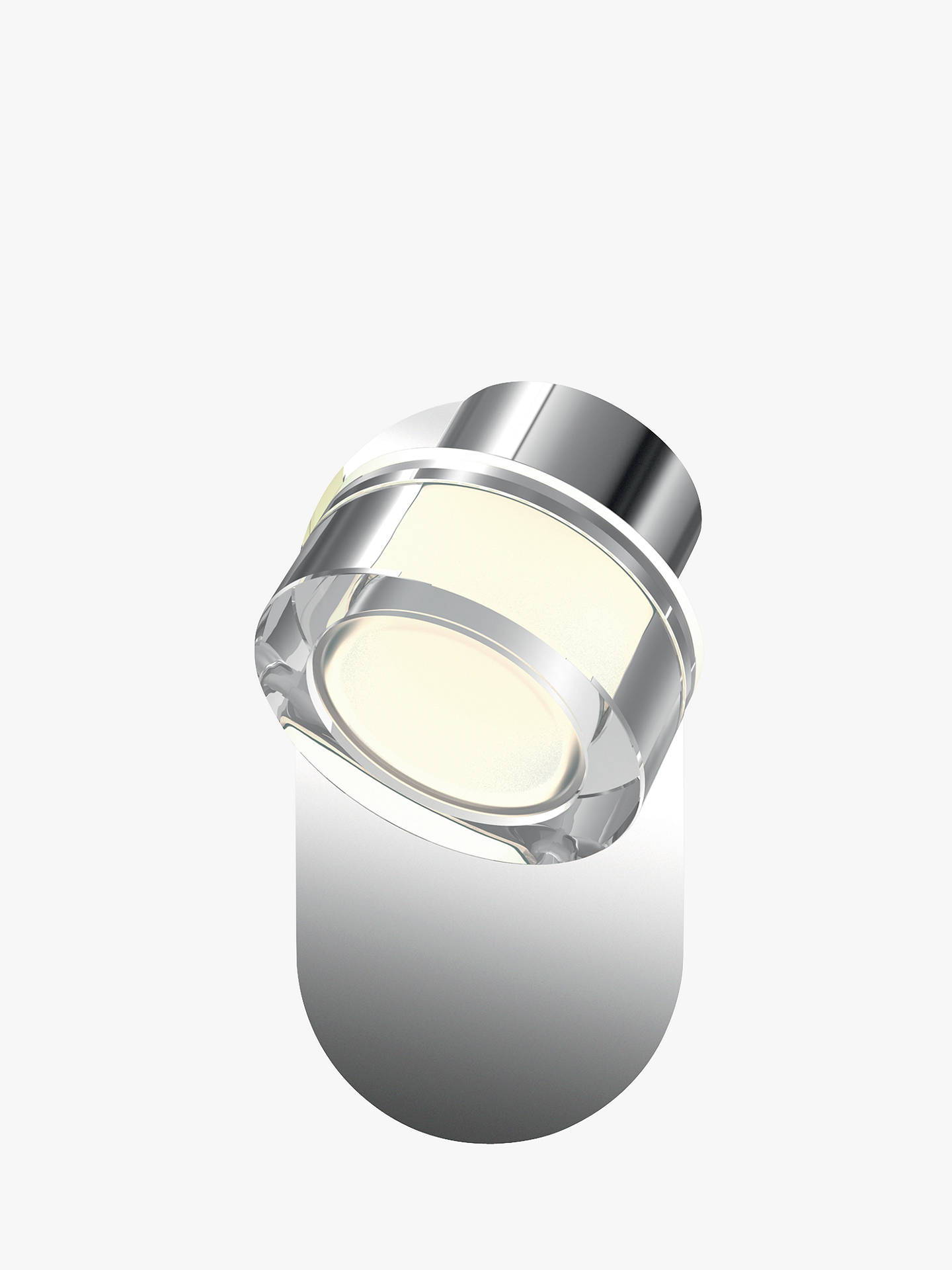 Buy Philips myBathroom Resort Single Bathroom Wall Spotlight, Chrome Online at johnlewis.com