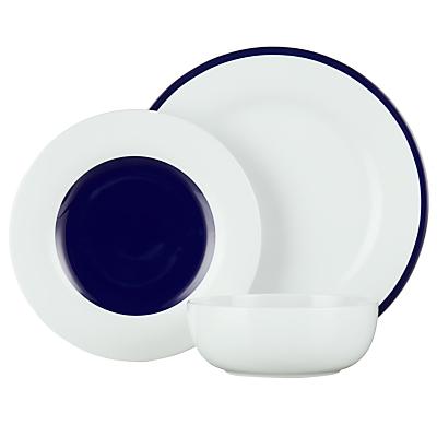 House by John Lewis Eat Rim Tableware Set, 3 Pieces