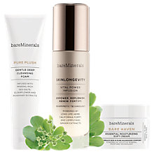 Buy bareMinerals Skinsorials Intro Kit, Normal / Dry Skin Online at johnlewis.com