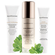 Buy bareMinerals Skinsorials Intro Kit, Normal / Combination Skin Online at johnlewis.com