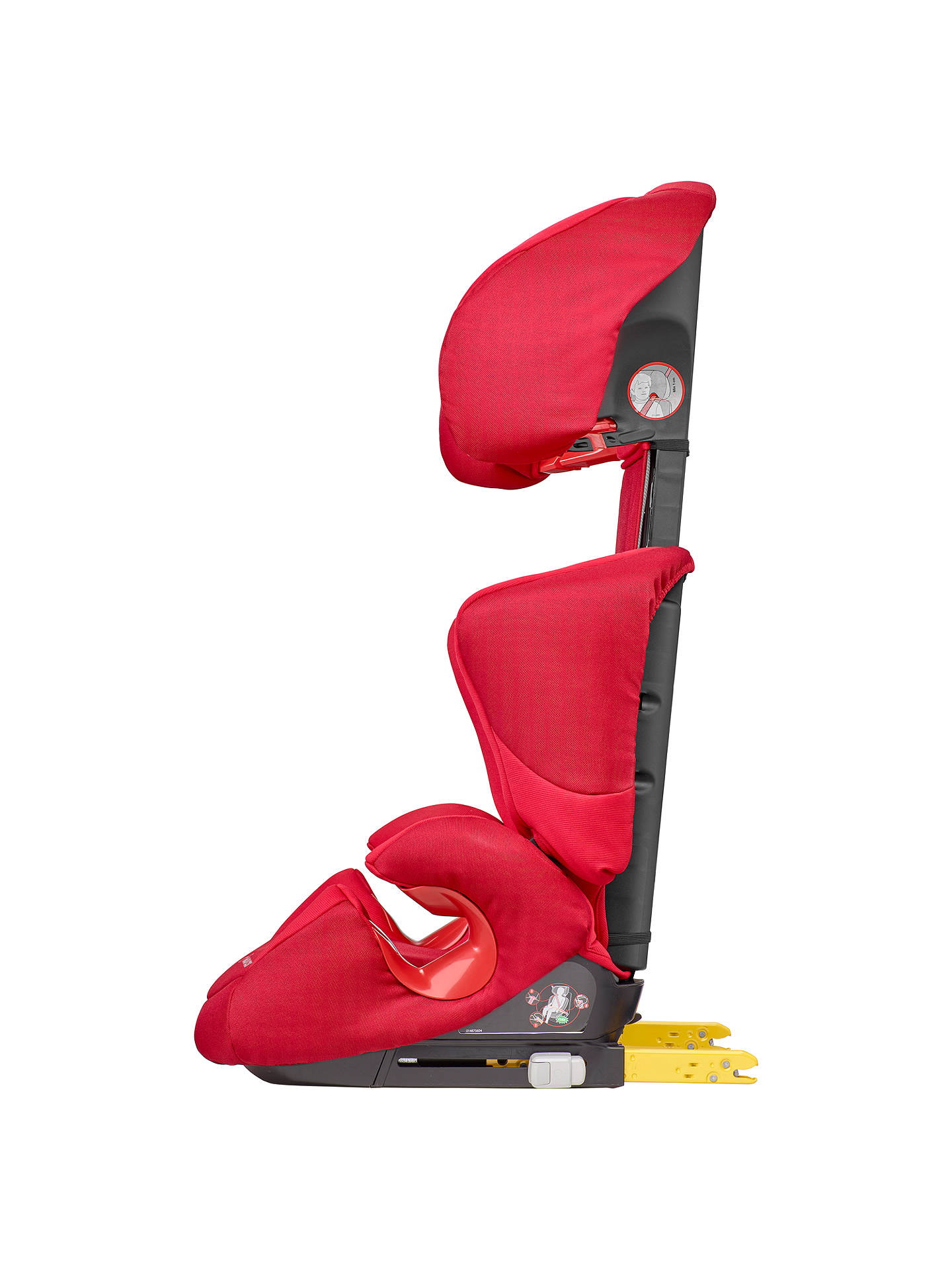 maxi cosi rodi xp fix group 2 3 car seat poppy red at john lewis partners. Black Bedroom Furniture Sets. Home Design Ideas