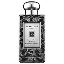 Buy Jo Malone London Velvet Rose & Oud Daisy Leaf Lace Bottle, 100ml Online at johnlewis.com