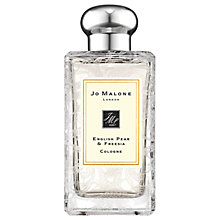 Buy Jo Malone London English Pear & Freesia Daisy Leaf Lace Bottle, 100ml Online at johnlewis.com