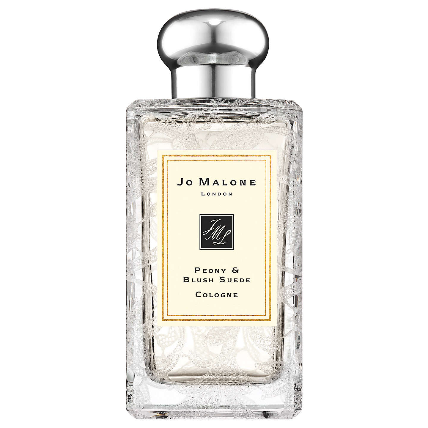 BuyJo Malone London Peony & Blush Suede Daisy Leaf Lace Bottle, 100ml Online at johnlewis.com