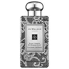 Buy Jo Malone London Dark Amber & Ginger Lily Wild Rose Lace Bottle, 100ml Online at johnlewis.com