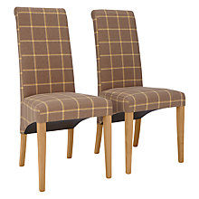 Buy John Lewis Audley Upholstered Dining Chairs, Set of 2 Online at johnlewis.com