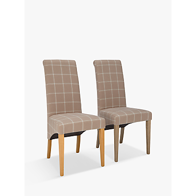 John Lewis Audley Upholstered Dining Chairs, Set of 2