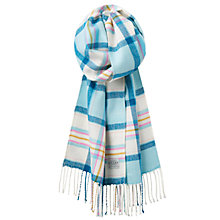 Buy Joules Bracken Scarf, Duck Egg Online at johnlewis.com