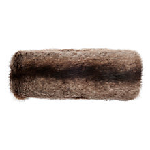 Buy Joules Liza Faux Fur Headband, Brown Online at johnlewis.com