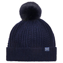 Buy Joules Women's Bobble Hat Online at johnlewis.com